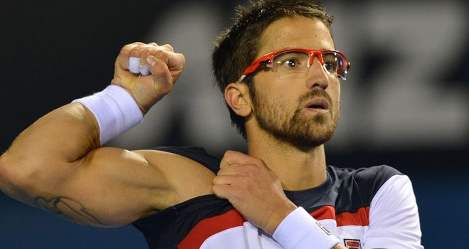 Janko Tipsarevic: Plenty of muscle but faltered against Dmitry Tursunov in Marseille