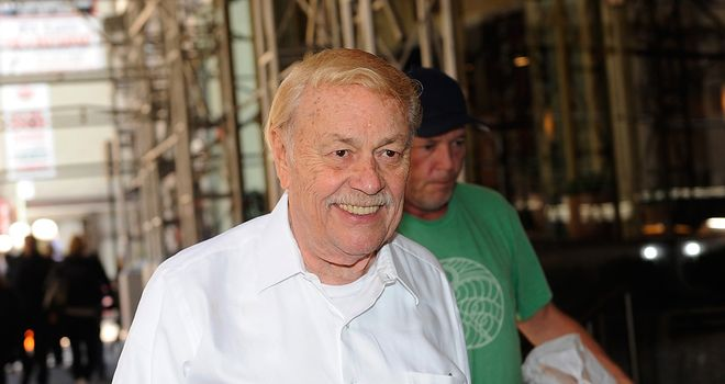 Jerry Buss: Won 10 NBA championships as owner of the LA Lakers