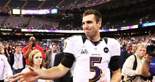 Joe Flacco: Deserved winner of Super Bowl MVP award