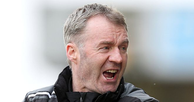 John Sheridan: Pleased with his side's fighting spirit