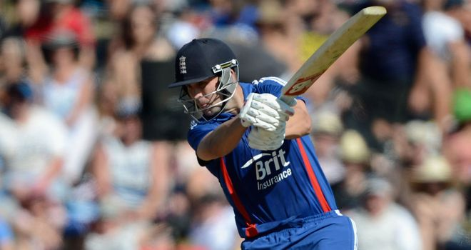 Jonathan Trott: Top-scored for England with 68