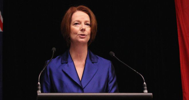 Julia Gillard: Says all sports fans will be sickened by the findings