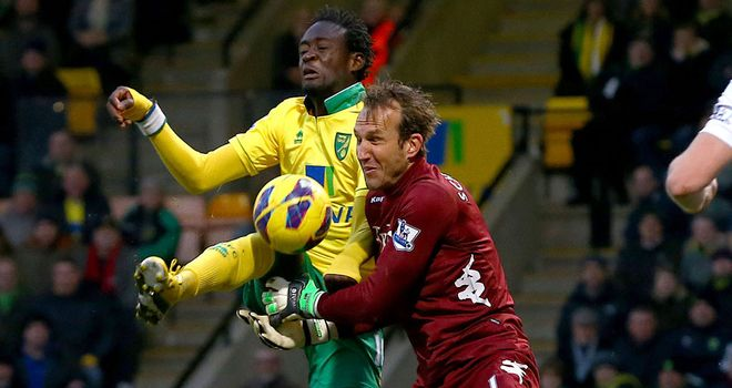 Kei Kamara: Determined to make the most of Norwich chance