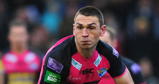 Kevin Sinfield: Leading Leeds' charge