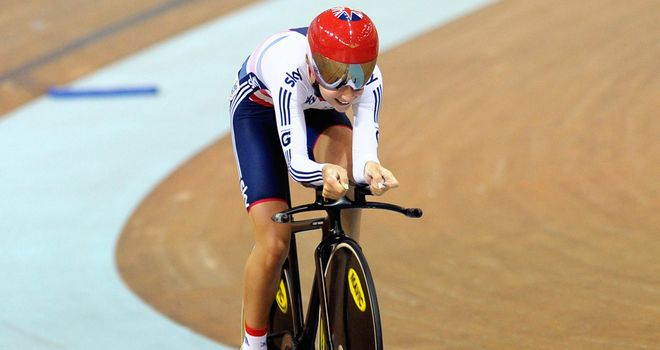 Laura Trott: Second gold of the week in Manchester