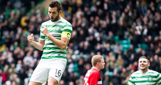 Joe Ledley: Stand-in skipper scored twice in 5-0 demolition of Dundee