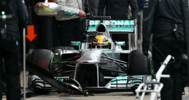Lewis Hamilton: Set the pace when the track was dry on Friday