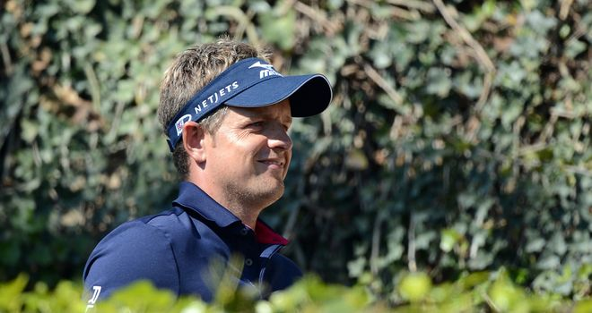 Luke Donald: In position to win this tournament again