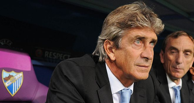 Manuel Pellegrini: In cautious mood