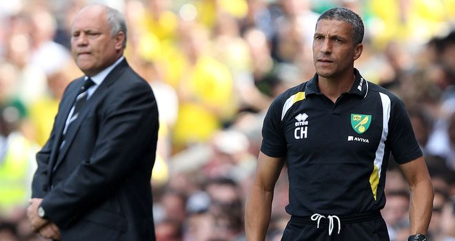 Martin Jol and Chris Hughton: Teacher and pupil meet at Carrow Road