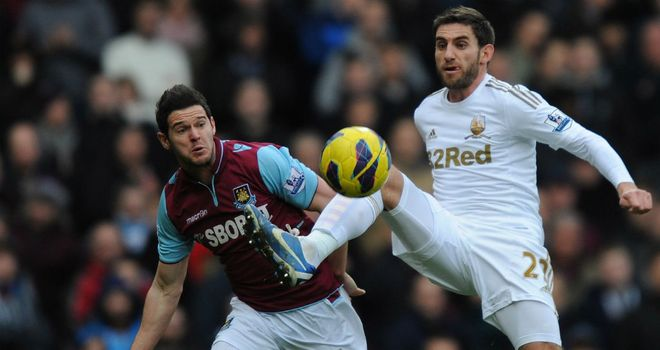 Matt Jarvis: Delighted with West Ham¿s win over Swansea on Saturday