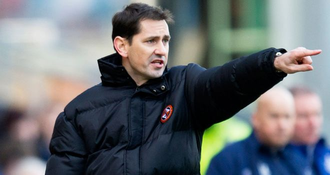 Jackie McNamara: Felt Dundee United deserved at least a draw