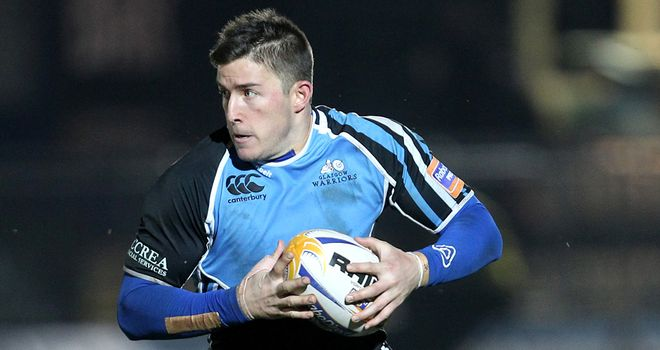 DTH van der Merwe: Record-breaking try for Glasgow Warriors