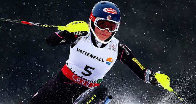 Mikaela Shiffrin: Raced to victory at the Alpine World Ski Championships