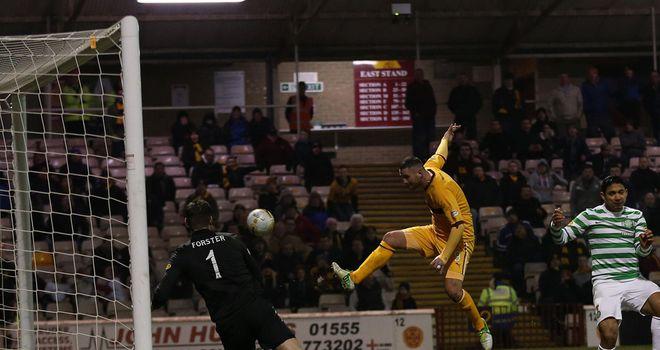 Michael Higdon: Grabbed Motherwell's winner against Celtic