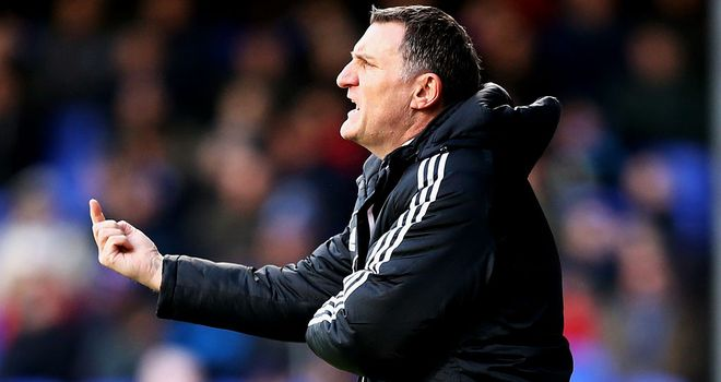 Tony Mowbray: Middlesbrough were held to a goalless draw at Burnley