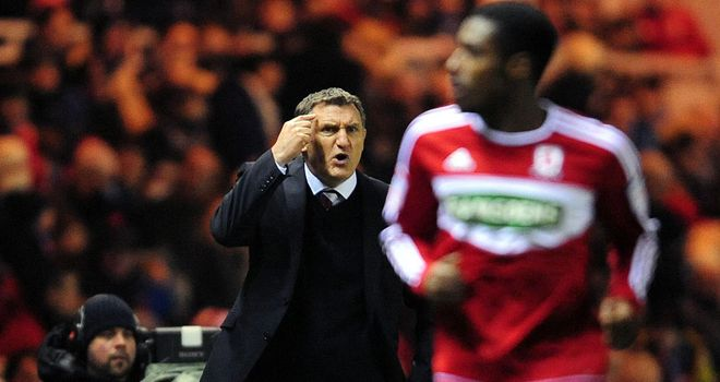 Tony Mowbray focused on league