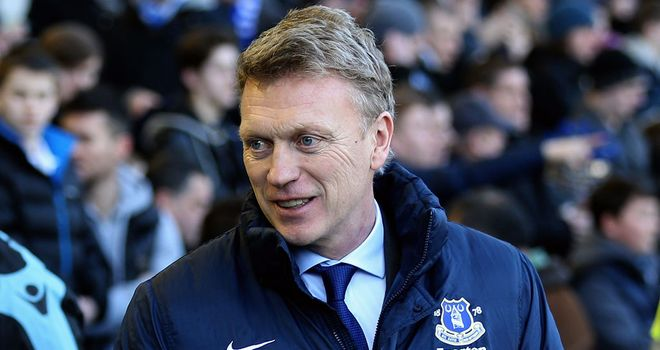 David Moyes: Satisfied with Everton's attacking display against Aston Villa