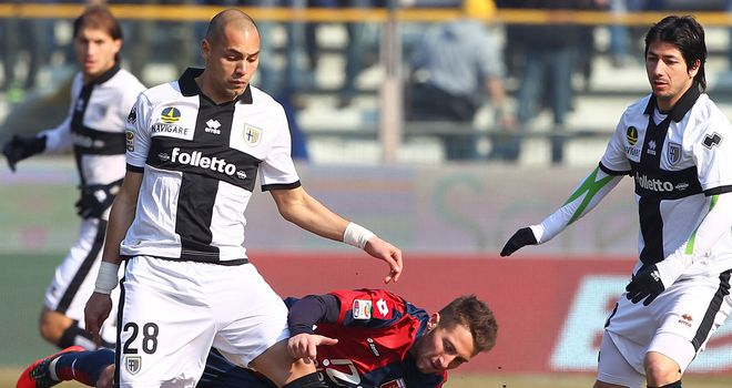 It was 0-0 at Parma on Sunday