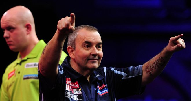 Phil Taylor: Has three points from his first two Premier League matches