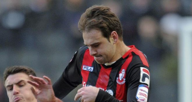 Brett Pitman: Struck from the penalty spot
