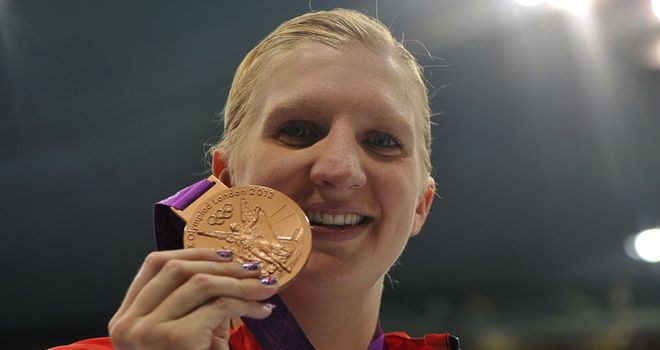 Rebecca Adlington: Retires from competition, but isn't leaving the sport