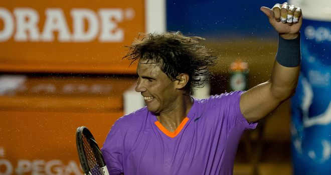 Rafael Nadal: A straight-sets winner