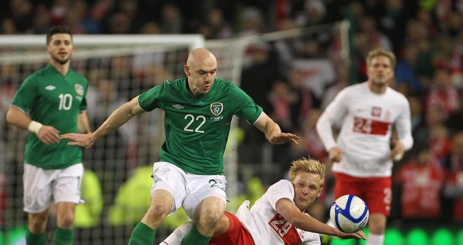 Conor Sammon: Set to deputise for Ireland against Austria