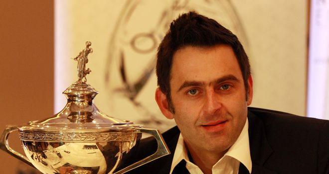 Ronnie O'Sullivan: 13/2 to retain his world title in Sheffield