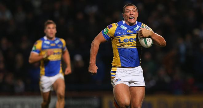 Ryan Hall scored Leeds&#39; first try last week, can he do it again?