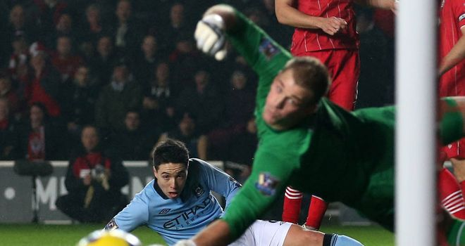 Samir Nasri and Joe Hart: Manchester City duo warned by manager Roberto Mancini