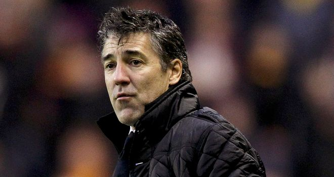 Dean Saunders: Disappointed with 0-0 draw at Derby on Saturday