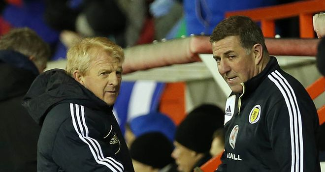Gordon Strachan &amp; Mark McGhee: In charge of Scotland set-up