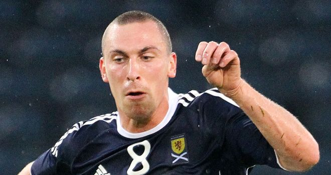 Scott Brown: Delighted to be named Scotland captain
