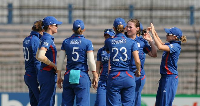 Anya Shrubsole takes the plaudits after ripping through South Africa's top-order