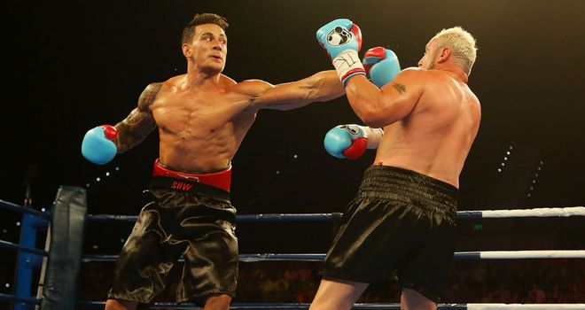 Sonny Bill Williams (L): Victory over Frans Botha was not without controversy