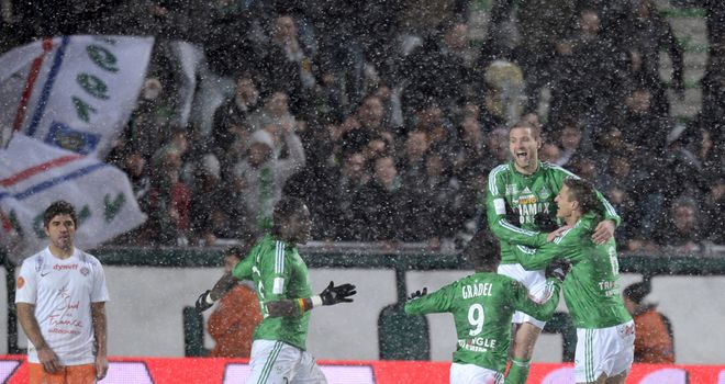 St Etienne: Won in the snow