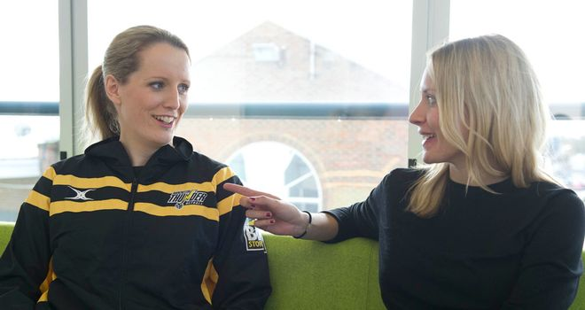 Sara Bayman and Tamsin Greenway: have high hopes - for the season and the sport