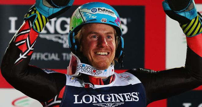 Ted Ligety: Secured a fourth giant slalom title