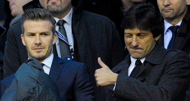 Leonardo: Happy with Beckham and fan of Rooney