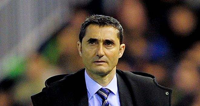 Ernesto Valverde: Looking for a win over Real Betis