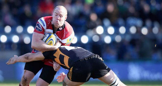 Mike Tindall: Back in the Cherry and White