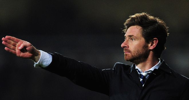 Andre Villas-Boas: Tottenham boss will pick a strong team against Inter Milan