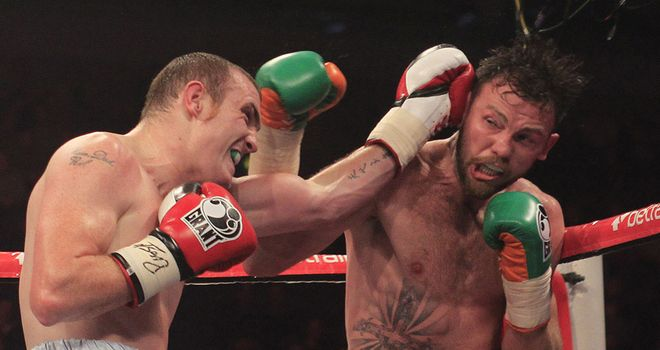 Andy Lee (R): Didn't impress on Saturday night