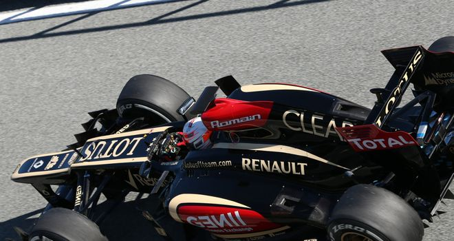 Romain Grosjean: Immediately felt at home in new Lotus