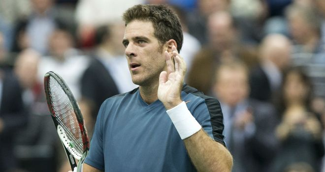 Juan Martin del Potro: lost in last year's final in Rotterdam to Roger Federer