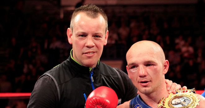 Gary Lockett (L) says Rees deserves his title shot
