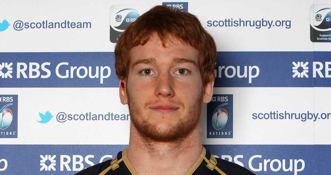Robert Harley: Glasgow forward to start for Scotland against Italy