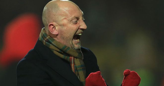 Ian Holloway: Wants fans to make Selhurst Park an intimidating place