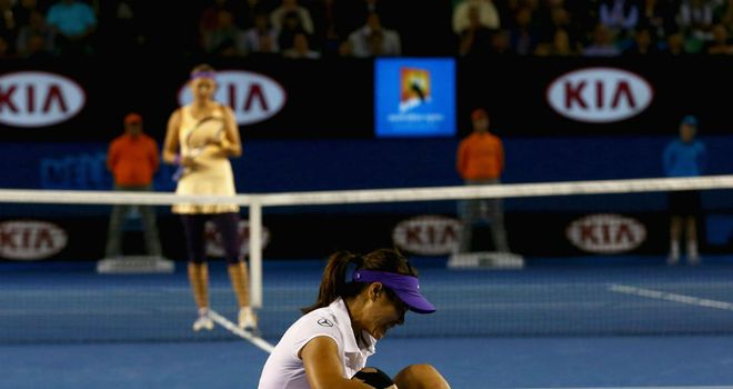 Li Na: Injured her ankle in last month's Australian Open final